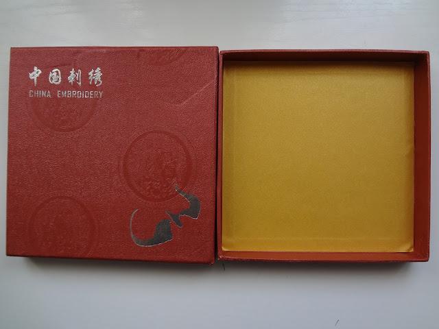 Caja para un pañuelo chino en Guangzhou