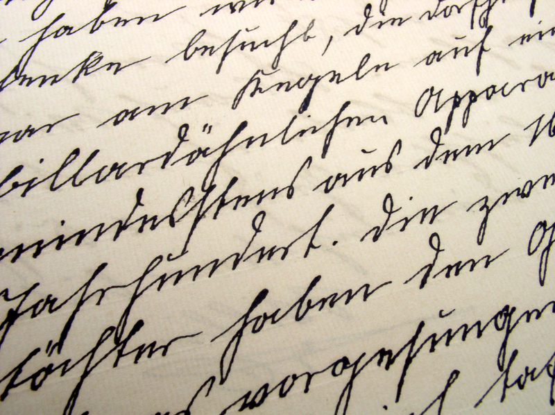 Quiet Laughter: The Beauty of Handwritten Letters