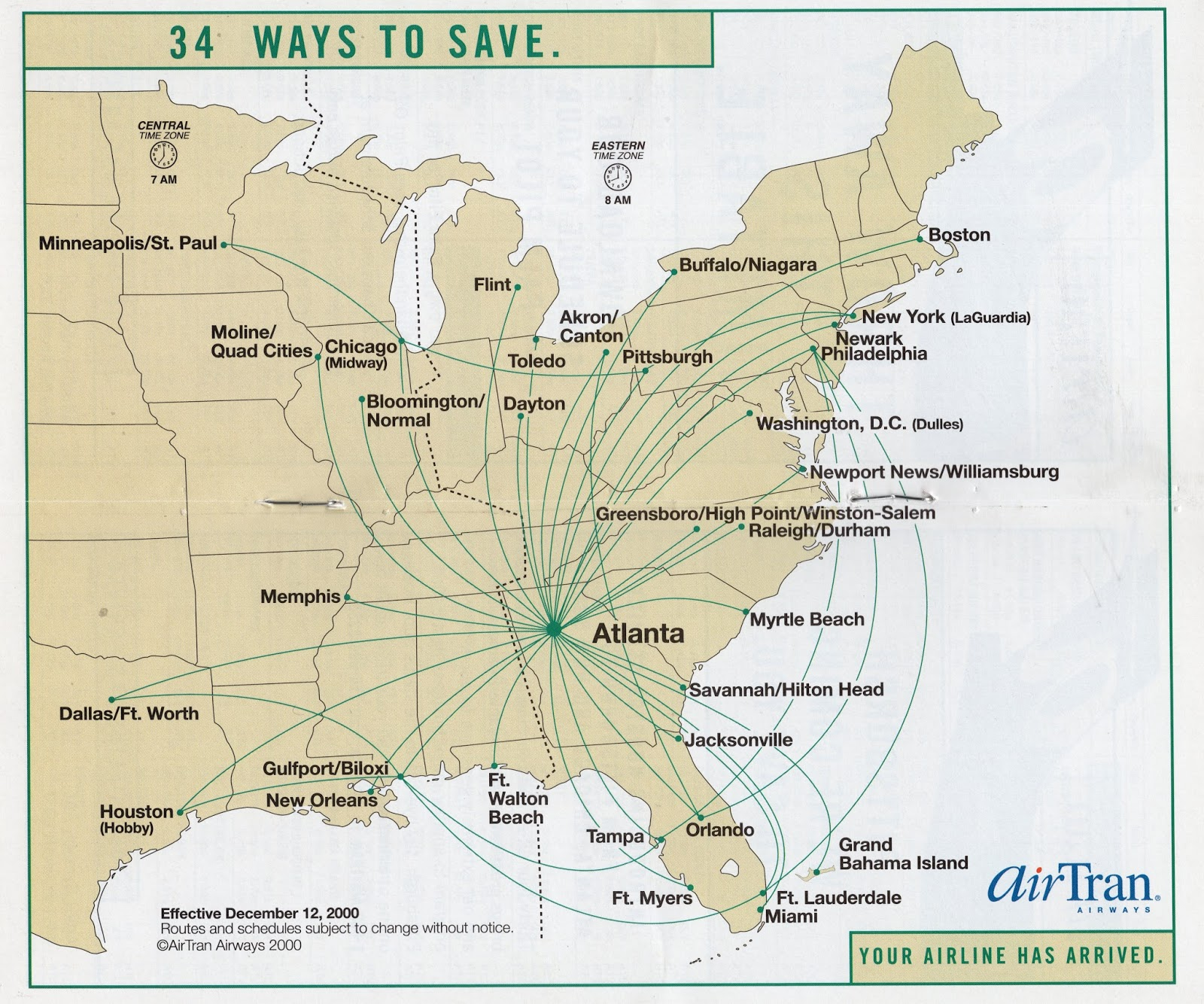 a funny commercial from airtran
