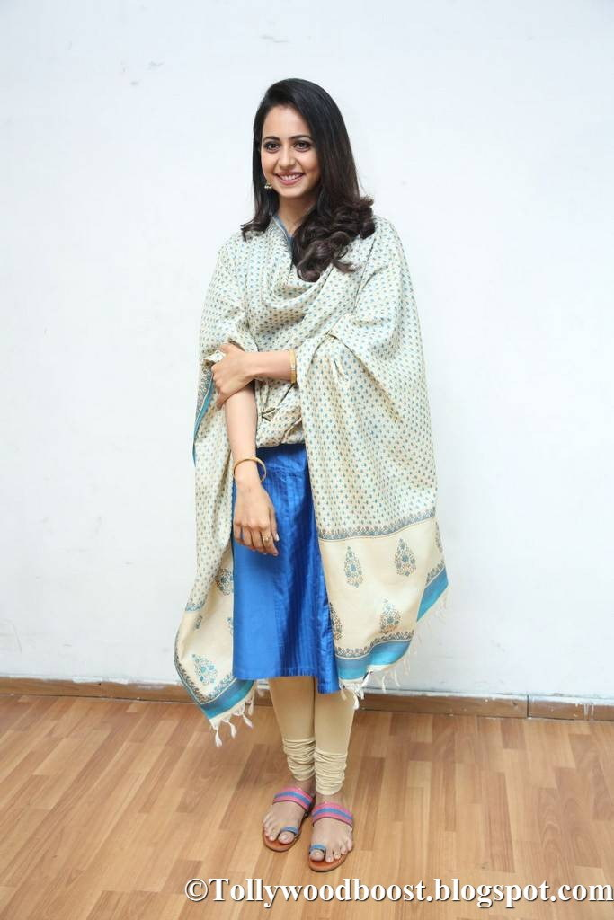 Actress Rakul Preet Singh Stills At Telugu Movie Press Meet