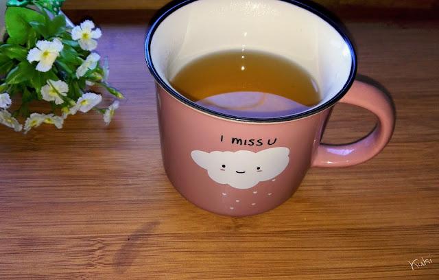 chá de limão, infusão