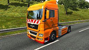 Heavy Duty skin for MAN TGX SCS