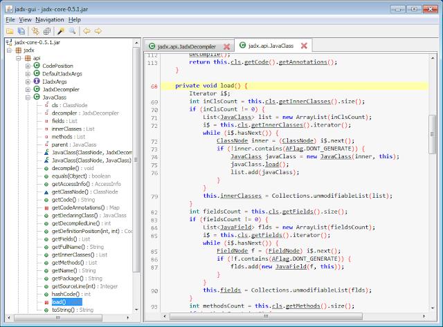 jadx - Dex to Java Decompiler - Tenochtitlan Offensive Security