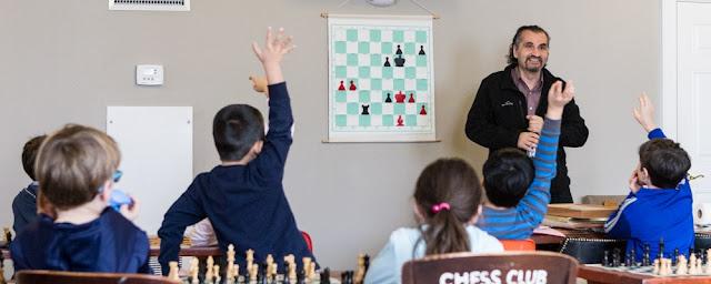 School break chess clinic with Jacob Rasin