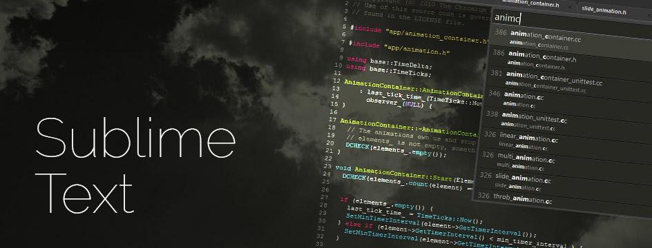Kode Shortcuts Keyboard Sublime Untuk Mempermudah Pekerjaan