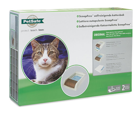 No More Scooping with PetSafe's ScoopFree Self-Cleaning Litter Box #ad