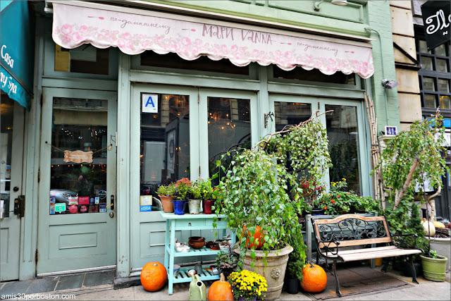 Restaurante Ruso Mari Vanna en Nueva York