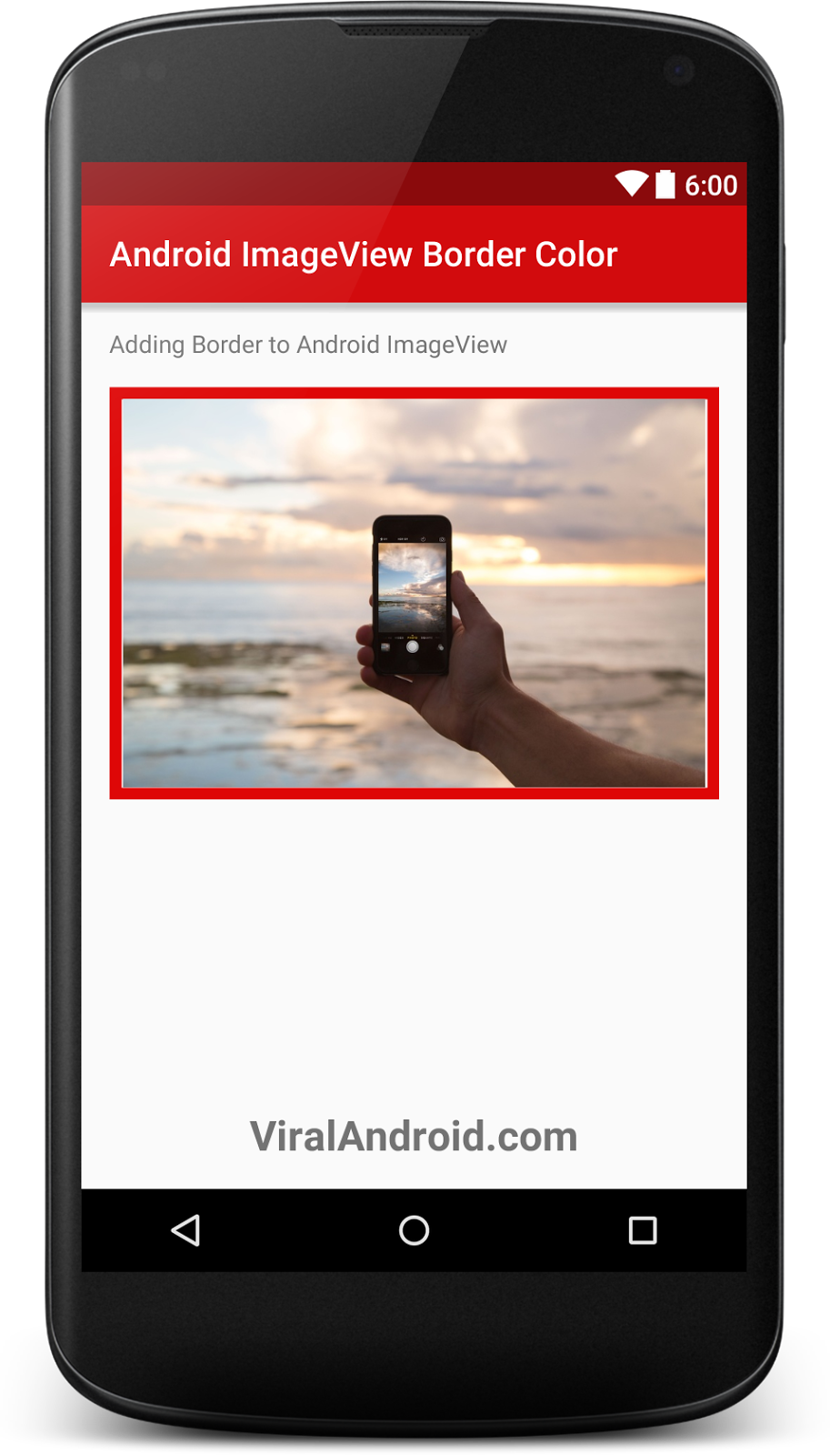 ImageView allow you to display images in android application How to Add Border to Android ImageView