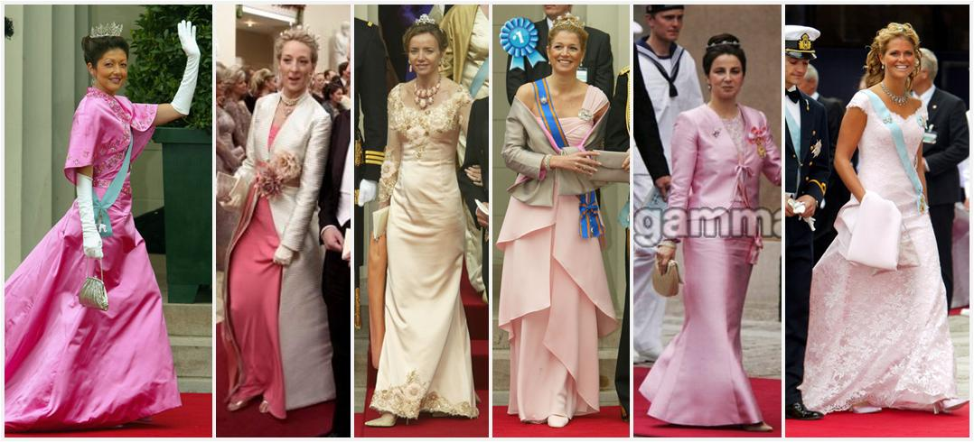 Left To Right Princess Alexandra Of Denmark Sayn Wittgenstein Berleburg Miriam Bulgaria Máxima The