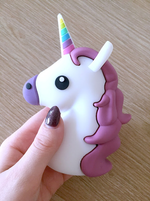 Unicorn Emoji Portable Mobile Phone Charger