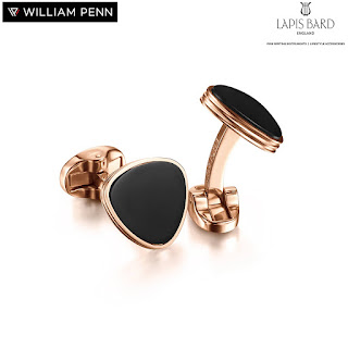 William Penn presents Lapis Bard Avant Garde Cufflinks