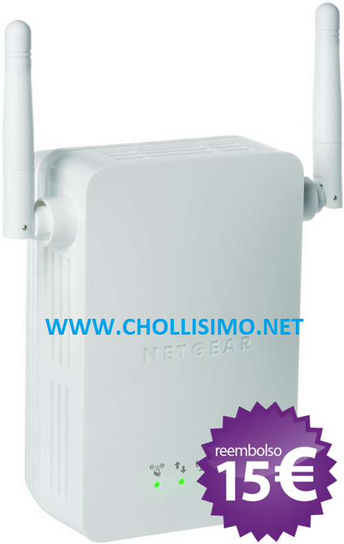 CHOLLO Repetidor WIFI Netgear 14,99€