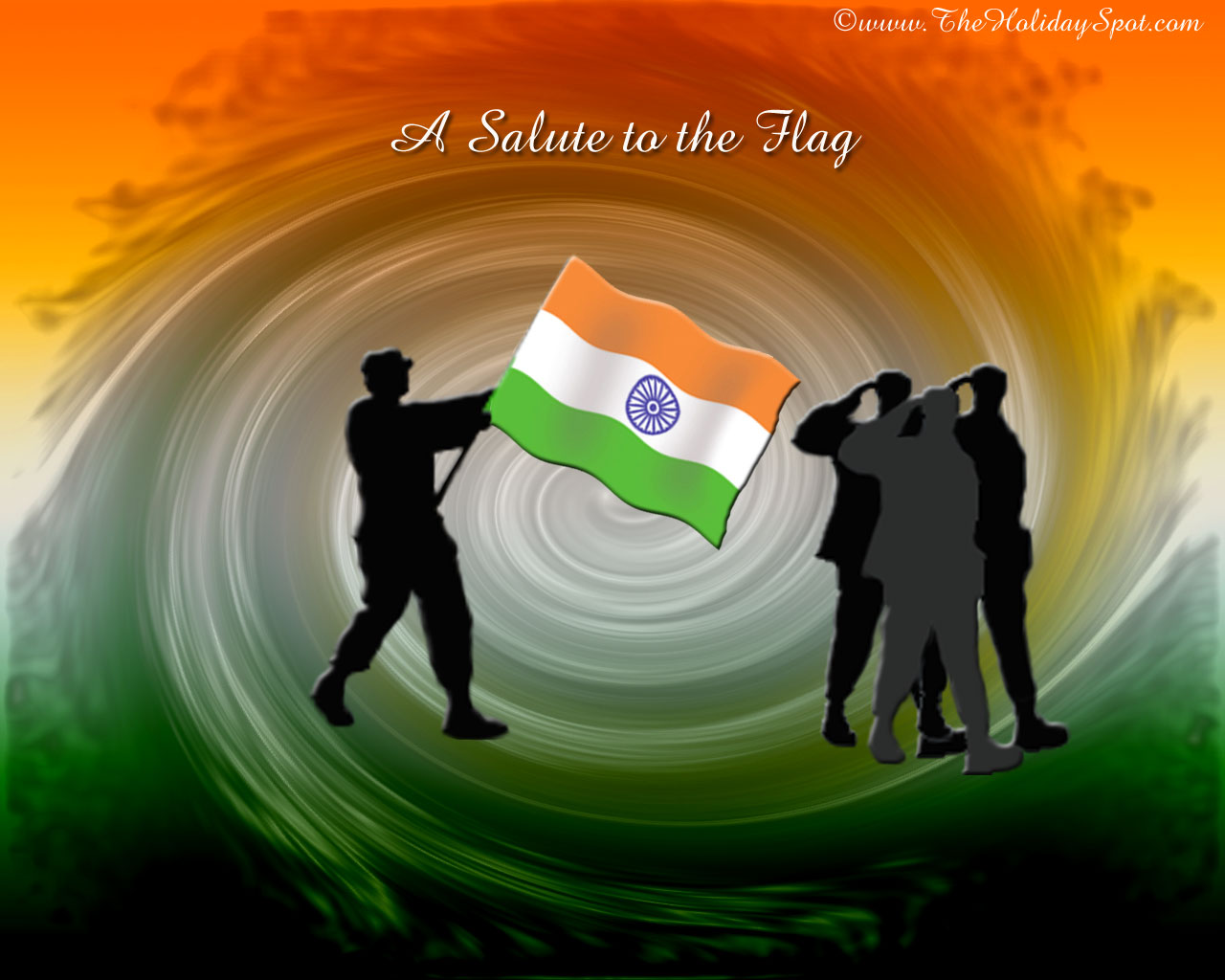Creative Watercolor Indian Flag Background For Indian: Painting Of Indian Flag WallpaperWallpaper Background