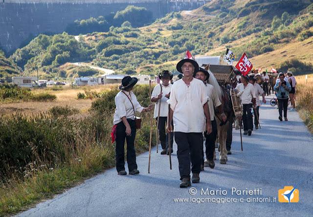 Sbrinz Route a Riale, la delegazione italiana svizzera