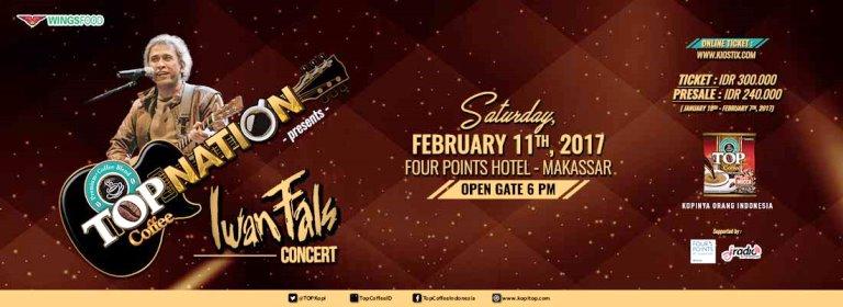 Konser Iwan Fals Makassar Februari 2017