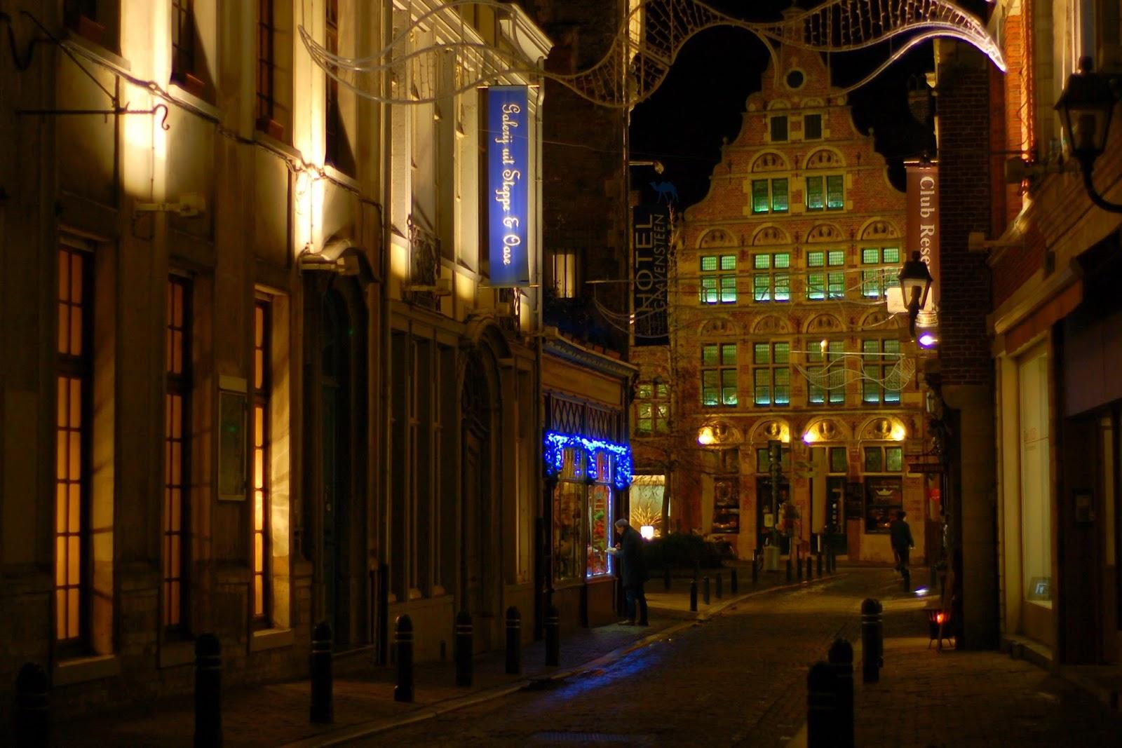 Le Chameau Bleu - Ruelles de Gand Belgique