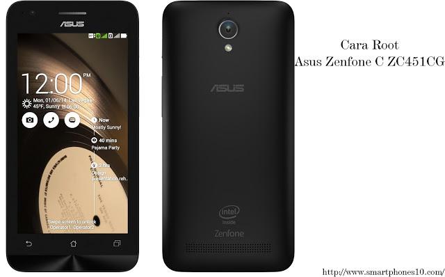 Cara Root Asus Zenfone C ZC451CG