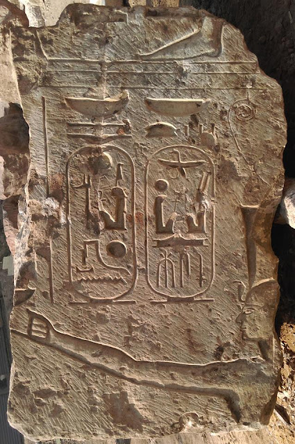 New discovery in Egypt's Matariya points to temple of Ramses II