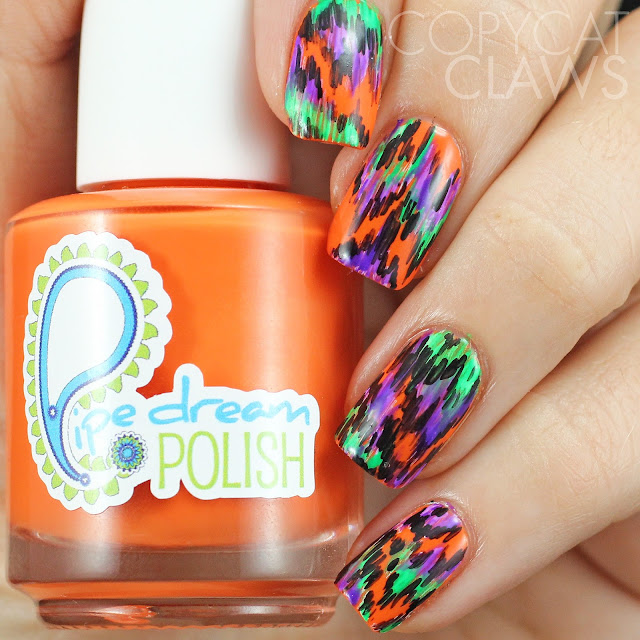 Copycat Claws: 40 Great Nail Art Ideas - Orange, Purple ...