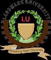 LandMark University 2017/18 New & Returning Students Resumption Date Out