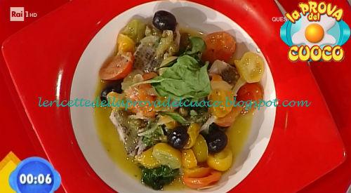 Filetto di sarago all'acquapazza ricetta Giunta da Prova del Cuoco