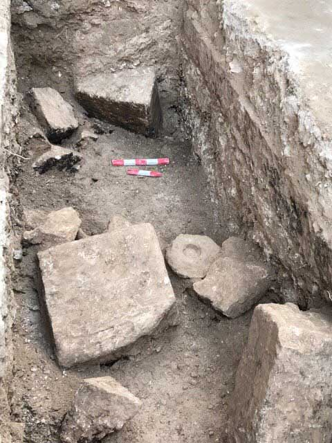 Ptolemaic buildings and bridge unearthed in Alexandria, Egypt