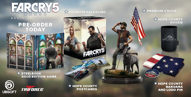 Far Cry 5 on PS4, Xbox One, PC  Ubisoft Game HD Wallpapers