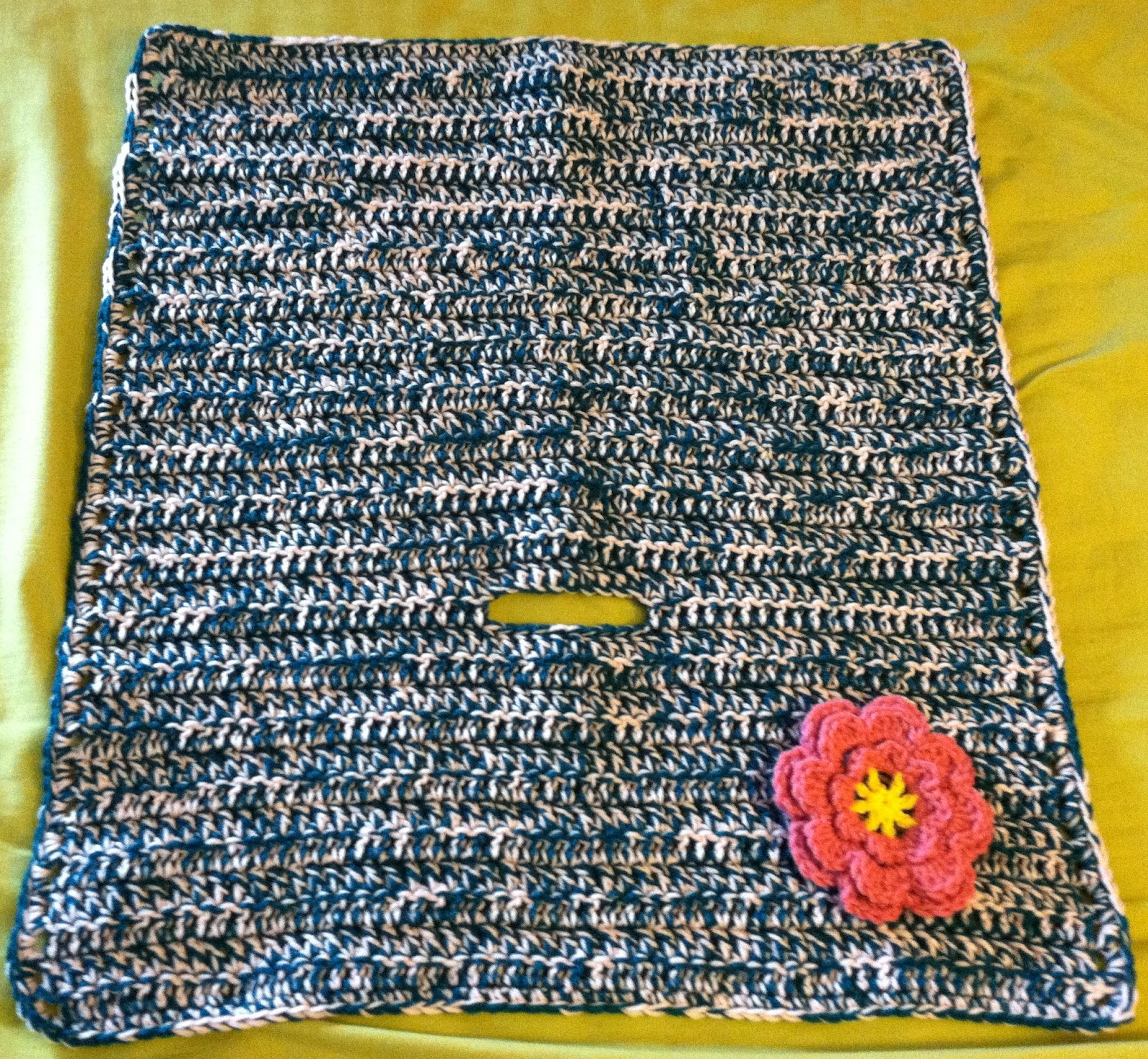 Crochet By Beth: Car Seat Blanket For Charity
