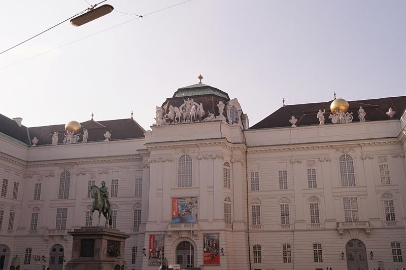 Österreichische Nationalbibliothek Wien von außen