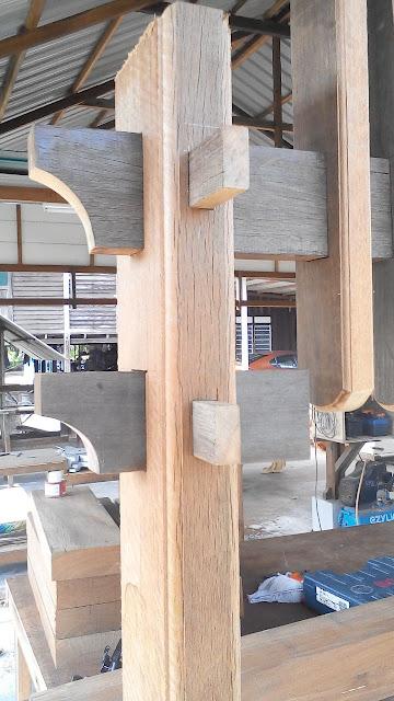 buaian kayu cengal resak
