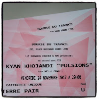 Spectacle pulsions de Kyan Khojandi