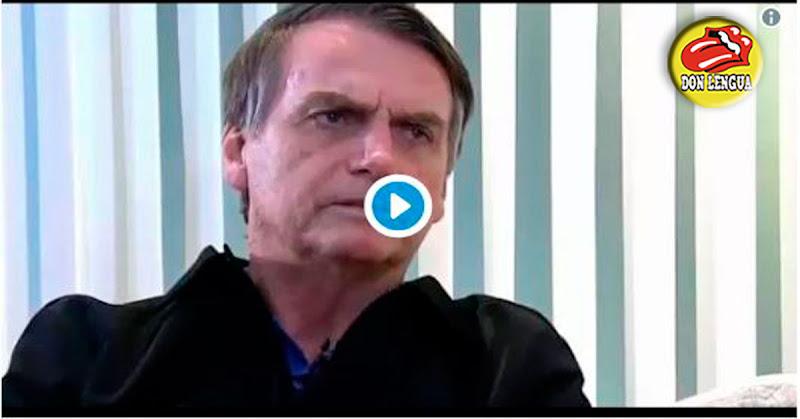 Bolsonaro se refirió al hambre que están pasando los venezolanos bajo dictadura