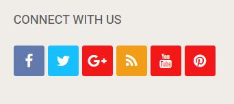 Add stylish social icons widget on your website or blog, Add stylish social icons widget on your website or blog. Blogspot social icon widget. Wordpress social share icon widget. Free website widgets.