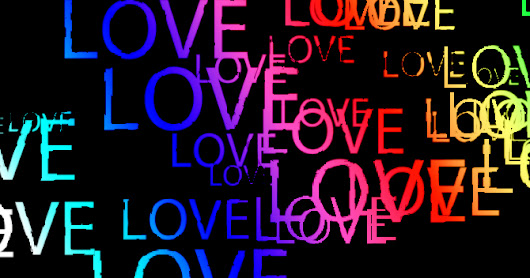 22. LOVE Text effect in Photoshop
