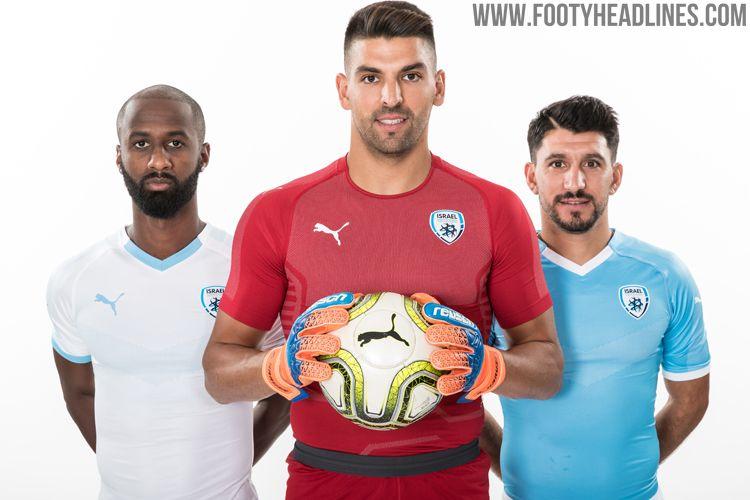 Puma Israel 2018-19 Home   Away Kits Released - Footy Headlines 64c29f47e