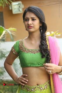 Actress Nikitha Bisht Stills in Lehenga Choli at Pochampally Ikat Art Mela Launch  0182.JPG