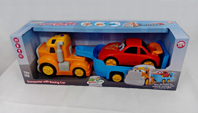 Bertie Brum and Friends toy car transporter