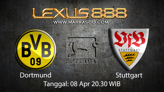 BOLA88 - PREDIKSI TARUHAN BOLA DORTMUND VS STUTTGART 8 APRIL 2018 ( GERMAN BUNDESLIGA )