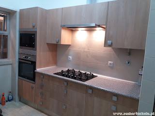 Montagem de cozinhas