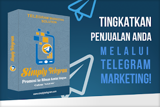 Tingkatkan penjualan dengan telegram marketing