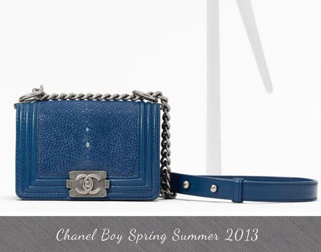 Small Boy CHANEL flap bag in shagreen     163 2 480Chanel Boy Bag Red 2013