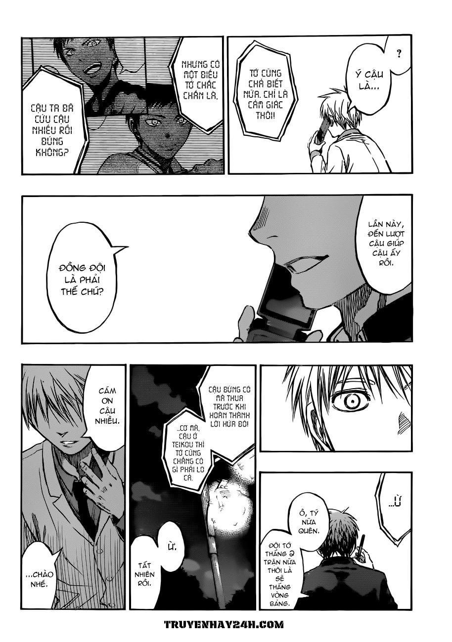 Kuroko No Basket chap 214 trang 10