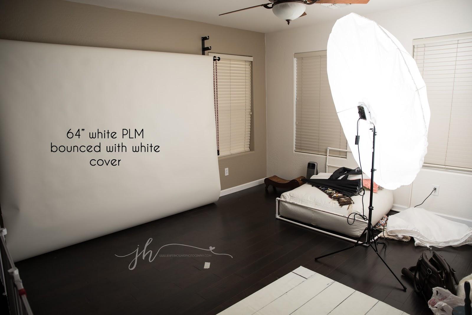 Greensboro newborn photographer studio lighting which plm system