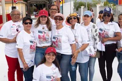 """VÍDEO Y FOTOS: Realizan 2da caminata """"Mujeres Camino a la Historia"""" con motivo al 8 de Marzo @JudithValdez31 @NicolasGrullon"""
