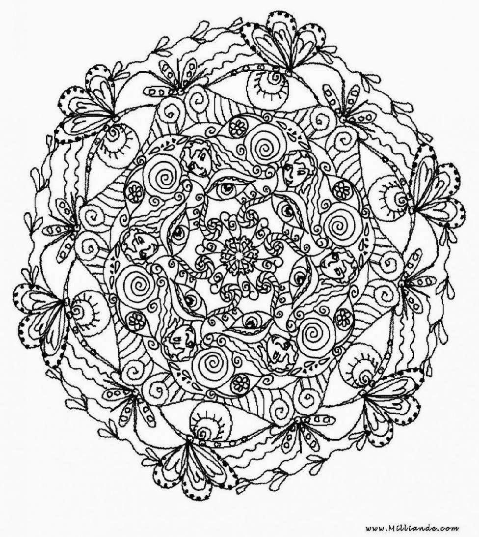Coloring Pages For Adults: Adult Coloring Sheets