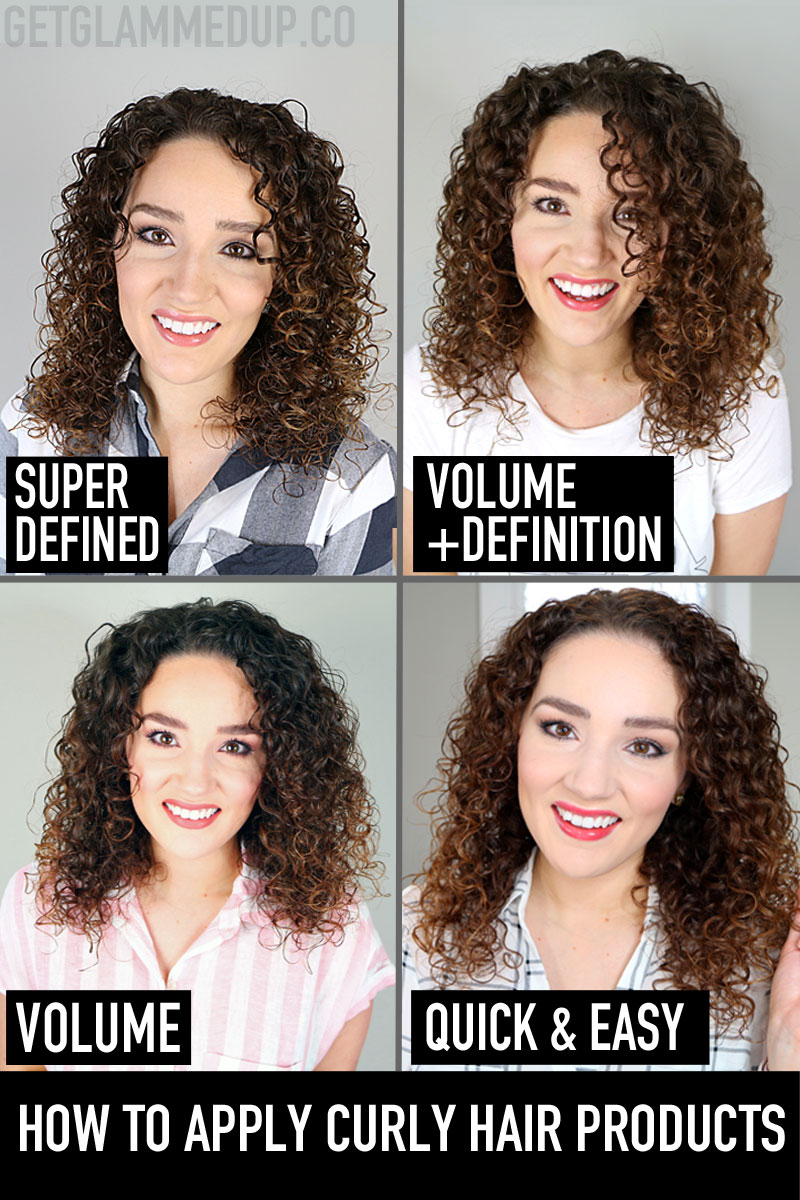 How to Apply Curly Hair Products
