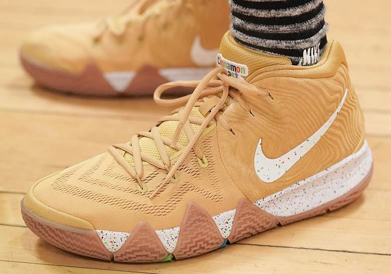 "c51cc84accbe0a It s safe to say that nobody in the NBA loves cereal more than Boston  Celtics point guard Kyrie Irving. After an extra-limited ""Wheaties"" take on  his Nike ..."