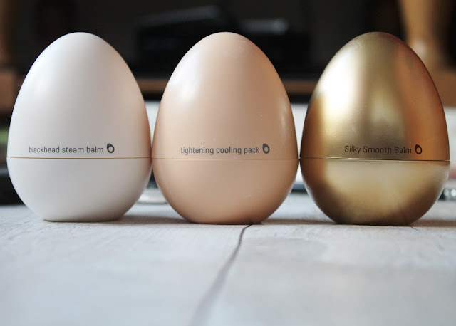 Tony Moly Egg Pore Balm, Cooling Pack and Primer