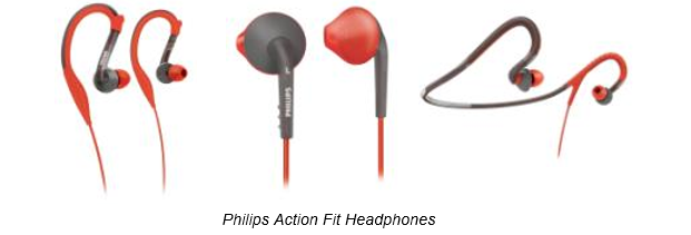 Philips Action Fit Headphones