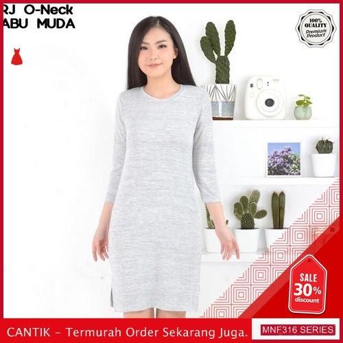 MNF316D99 Dress Bl Wanita O neck Rj Rajut 2019 BMGShop